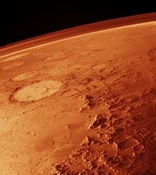 New type of dust in Martian atmosphere discovered