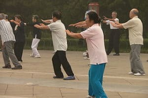 Tai chi about equal to conventional exercise for reducing belly fat in middle-aged and older adults