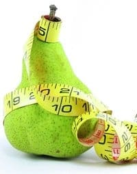 Study deflates notion pear shaped bodies healthier than apples