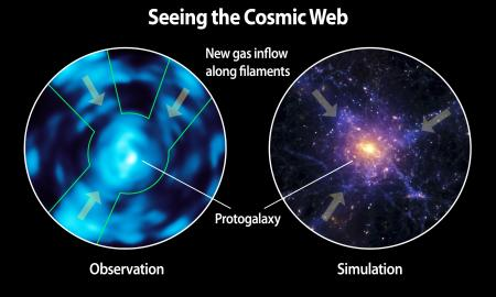 Caltech's Cosmic Web Imager Directly Observes 'Dim Matter'