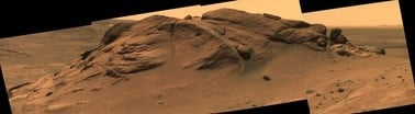 Mars scientist: Crater once held a lake after all