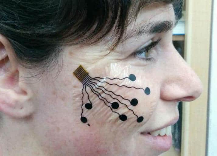 Techie 'tattoo' can map emotions, monitor muscles