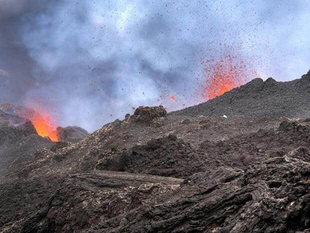 New research uses satellites to predict end of volcanic eruptions