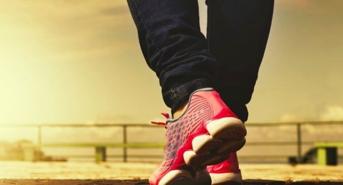 Just an hour of weekly walking staves off disability