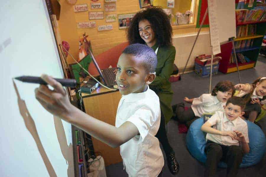 Black students who have one black teacher are more likely to go to college