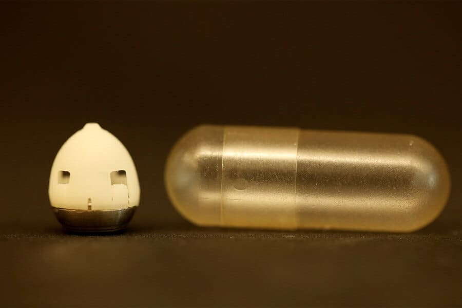 New microneedle pill for painless insulin injection