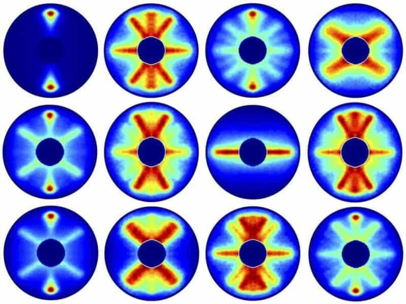 Scientists film molecular rotation
