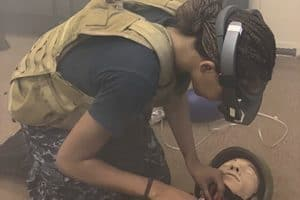 Augmented reality tool shown to help surgeons remotely guide first responders in battlefield-like scenarios