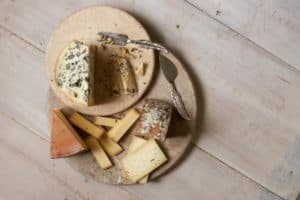 Those funky cheese smells allow microbes to 'talk' to and feed each other