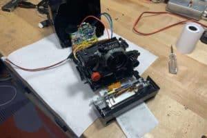 Student Turns Old Polaroid Into New Digital Camera