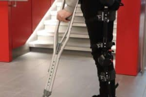 Human-robot legs can walk on their own