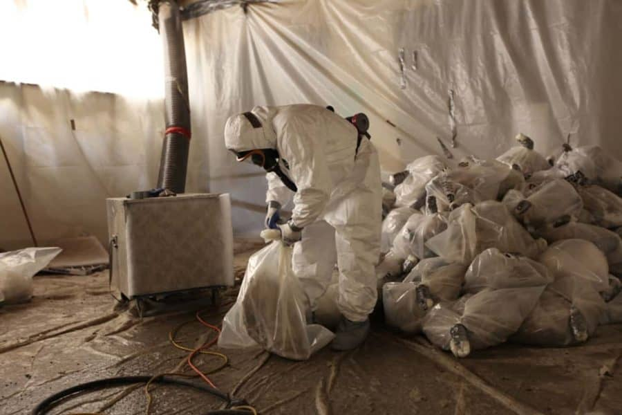 Asbestos sites made risky by some remediation strategies