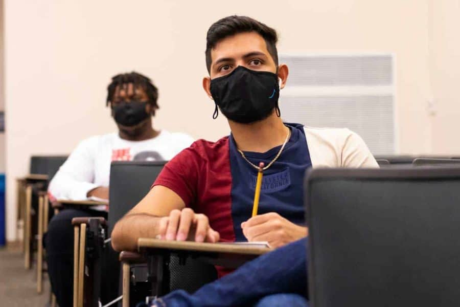Masks, Ventilation Stop COVID Spread Better than Social Distancing