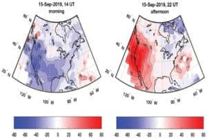 How a sudden stratospheric warming affected the Northern Hemisphere