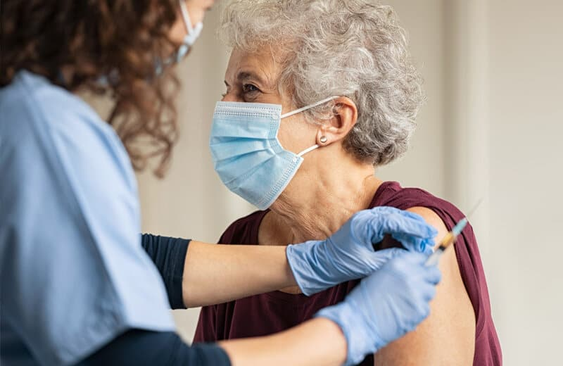 Want less pandemic stress? Consider getting vaccinated