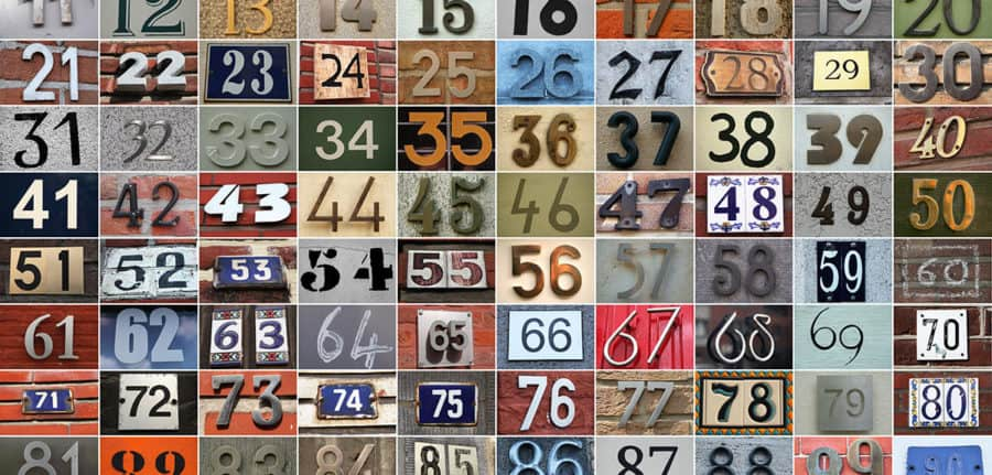 Numbers that shape the world
