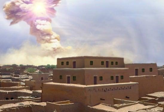 Ancient disaster destroyed Biblical city Tall el-Hammam
