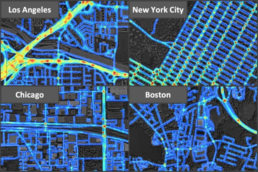 Deep learning helps predict traffic crashes before they happen